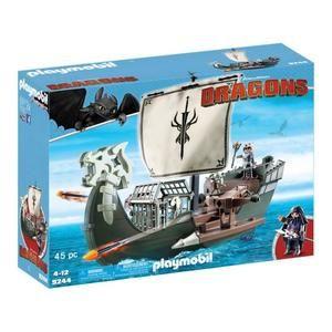 PLAYMOBIL 9244 - Dragons Edition Limitée - Drago et Vaisseau d'Attaque